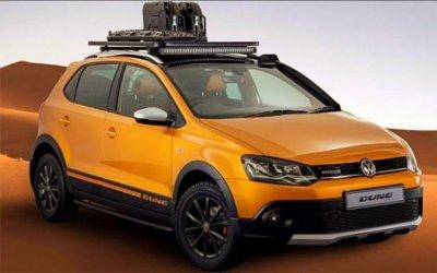 Показан концепт-кар вседорожного Volkswagen Polo