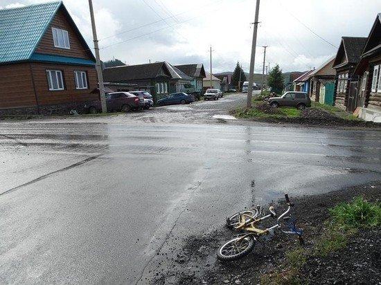 В Челябинской области «скорая» сбила 7-летнего велосипедиста