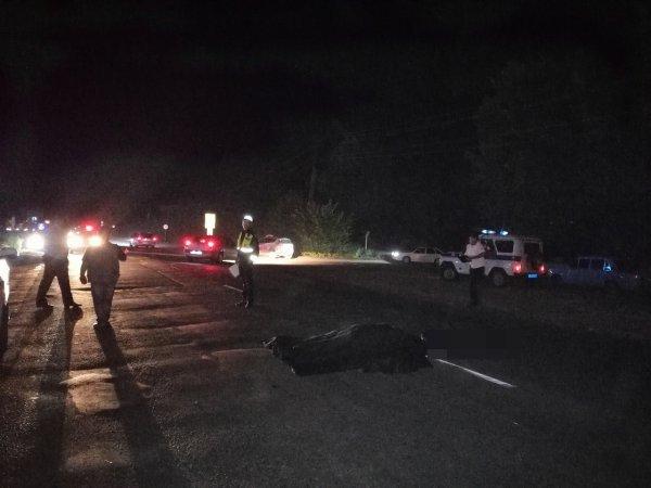 В Ростовской области водитель насмерть сбил пешехода и скрылся