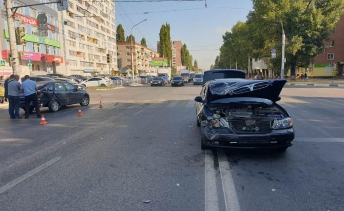 10-летняя девочка пострадала в ДТП в Воронеже