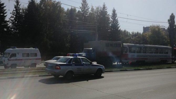 В Ульяновске трамвай насмерть сбил пешехода