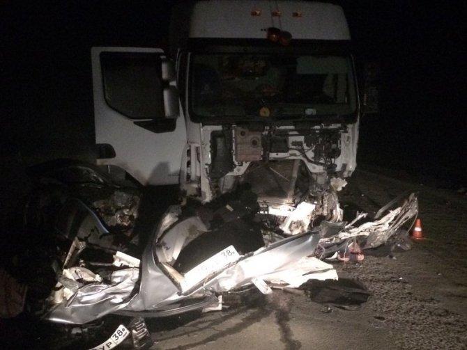 В ДТП в Усольском районе погиб водитель иномарки (2)