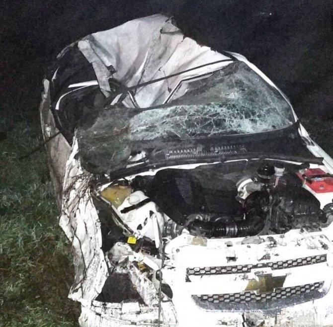 В Кузбассе в ночном ДТП погиб водитель (1)
