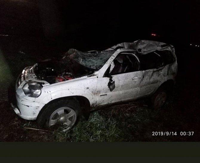 В Кузбассе в ночном ДТП погиб водитель (3)
