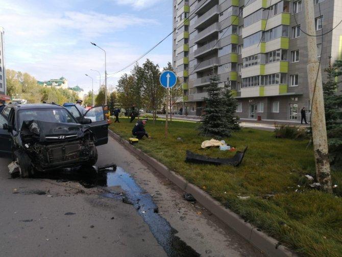 В Казани водитель насмерть сбил пешехода и сам погиб (1)