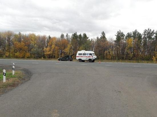 4-летняя девочка пострадала в ДТП в Оренбургской области (1)