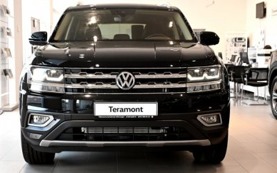 Volkswagen Teramont с новым двигателем доступен для заказа в Ключавто