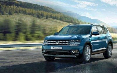 Volkswagen Teramont: мощный размер!