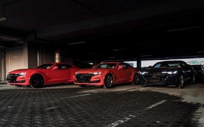 Каждый 4-й проданный Chevrolet Camaro в России – из «Авилон»!
