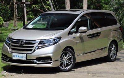 Honda обновила минивэн Elysion