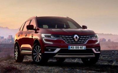 Обновлён кроссовер Renault Koleos