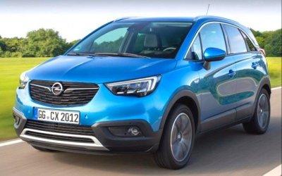 Кроссовер Opel Crossland Xполучил новый мотор