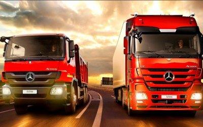 В России открыт онлайн-магазин грузовиков Mercedes-Benz