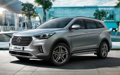 Кроссовер Hyundai Grand Santa Fe больше не продаётся в России, но ему будет замена