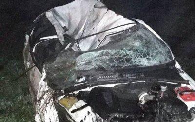 В Кузбассе в ночном ДТП погиб водитель
