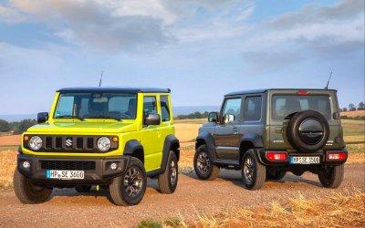 Suzuki Jimny: вРоссии грядёт ажиотаж?