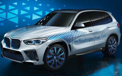 BMW X5 получит водородные топливные элементы