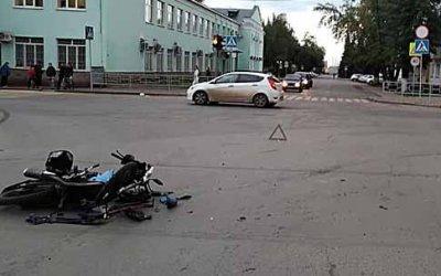 Водитель мопеда погиб в ДТП в Уфе