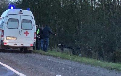 Водитель иномарки погиб в ДТП в Лужском районе
