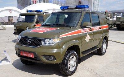 «УАЗ Патриот» получил армейские версии