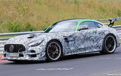 Новый Mercedes-AMGGT станет гибридным