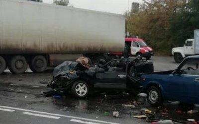 Младенец погиб в ДТП под Курском