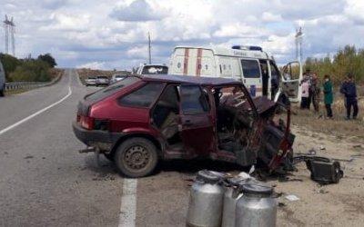 Пять человек пострадали в ДТП под Вольском