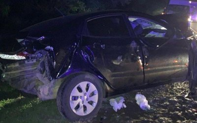 Женщина-водитель иномарки погибла в ДТП на Кубани