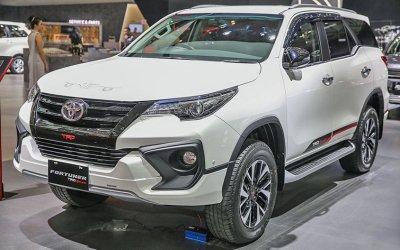 Начались продажи внедорожника Toyota Fortuner TRD Sportivo