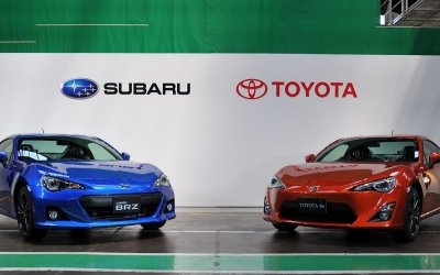 Subaru образует альянс с Toyota