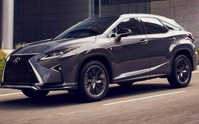 Новый LexusRX: известны российские цены