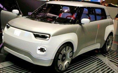 FIAT Panda станет электромобилем