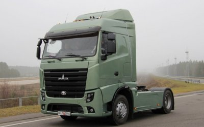 «МАЗ» начал производство сверхкомфортабельных тягачей