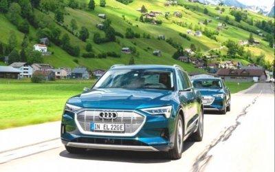 Audi eTron засутки проехал всю Европу