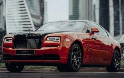 ВRolls-Royce восхитились ночной Москвой