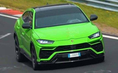 На «Нюрбургринге» замечена новая версия Lamborghini Urus