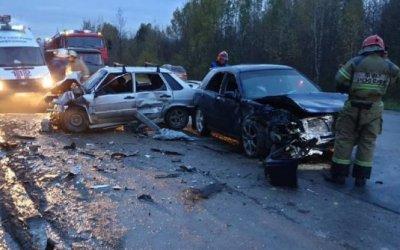 Пять человек пострадали в ДТП в Прикамье
