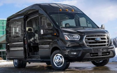 ВРоссии начат выпуск обновлённого Ford Transit