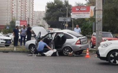 Пассажир «Приоры» погиб в ДТП в Воронеже