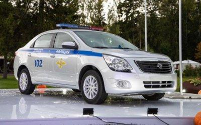 Российская полиция будет ездить на узбекском Ravon