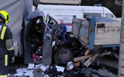 В Петербурге в ДТП погиб водитель «Газели»