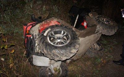 Водитель квадроцикла погиб под Нижним Тагилом