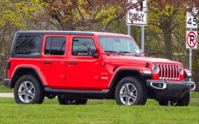 Все версии Jeep Wrangler получат новый двигатель