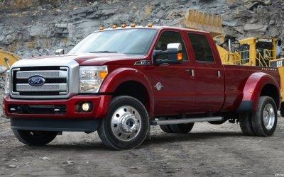 Пикапы Ford стали рекордсменами погрузоподъёмности