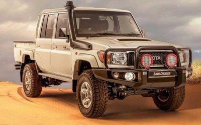 Пикап Toyota Land Cruiser 70 получил «пустынную» версию