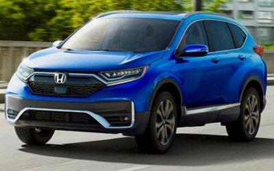 Honda CR-V стала гибридной