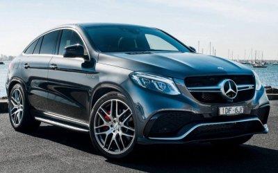 Представлен новый Mercedes-Benz GLE Coupe