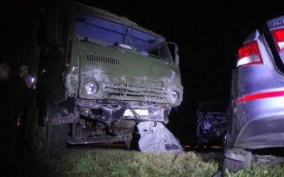 Два человека погибли в ДТП с КамАЗами в Татарстане
