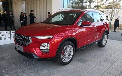 ВРоссии запатентован китайский клон Hyundai Santa Fe