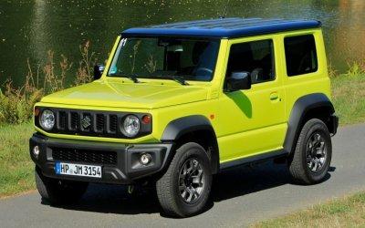 Раскрыты планы российских продаж Suzuki Jimny